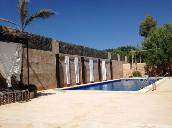 Hotel Peralta: piscina
