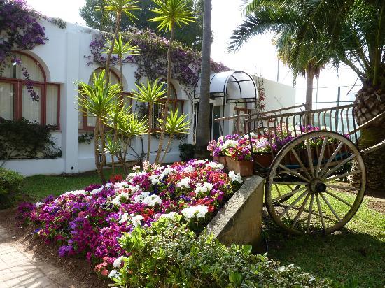 Club Calimera Es Talaial: entrada al complejo