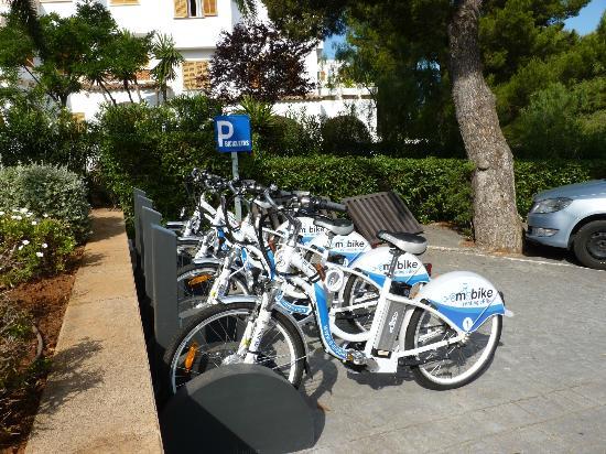 Club Calimera Es Talaial: bicicletas de alquiler