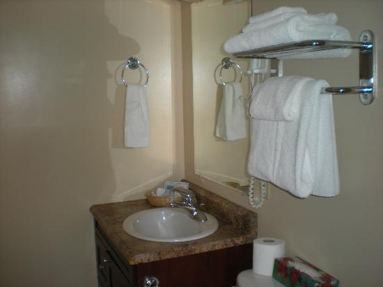 Royal Inn + Suites : Motel Bath