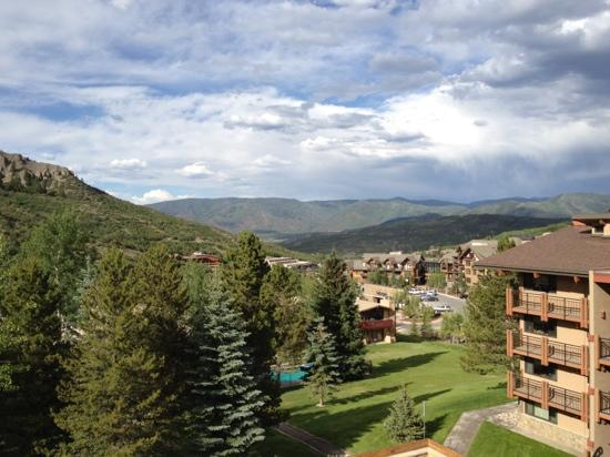 Stonebridge Condominiums : looking out from condo balcony