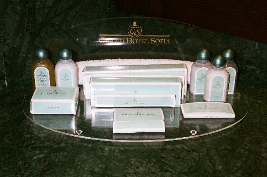Grand Hotel Sofia: Bathroom Toiletries