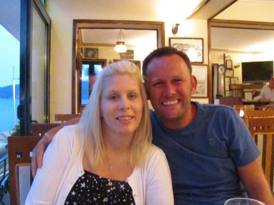 Restaurant Jan de Wit: Me and hubby