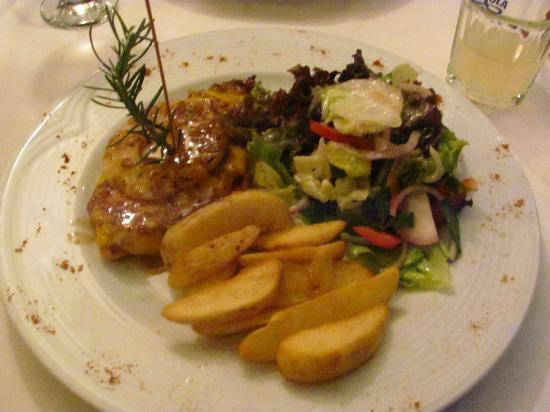 Restaurant Jan de Wit: Yummy, Hawaii chicken (chicken, pineapple, bbq sauce)