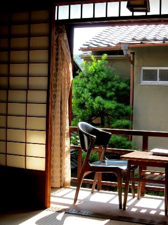 Ishihara: The Kurosawa room balcony
