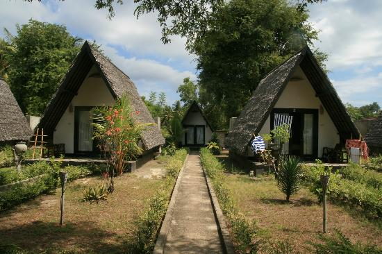 Kaluku Gili Resort: bungalows