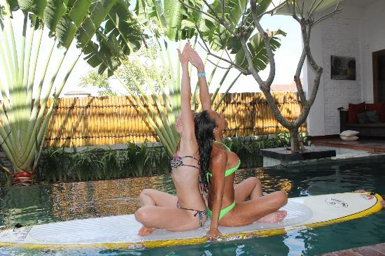 Echoland: Teaching Yoga in the Pool
