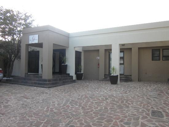 Galton House: Entrance