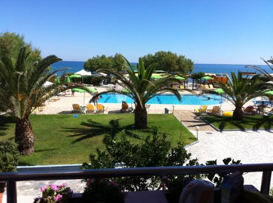 Hotel Sea Side : från balkongen