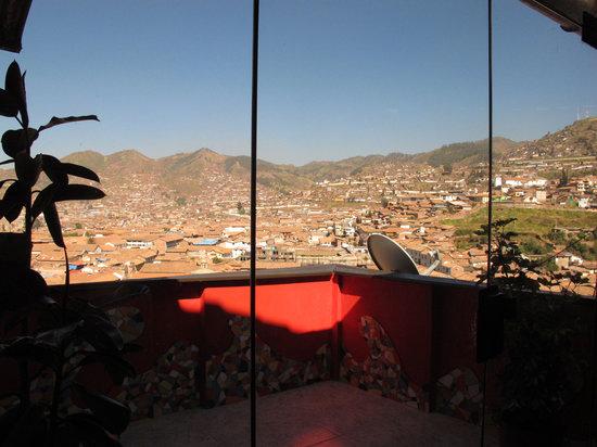Hostal Wara Wara: balcon