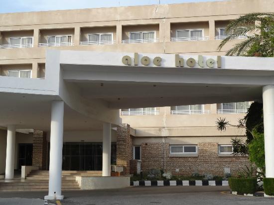Aloe Hotel: Wejście do hotelu