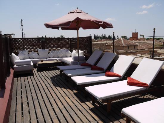 Riad El Zohar: Sun Terrace