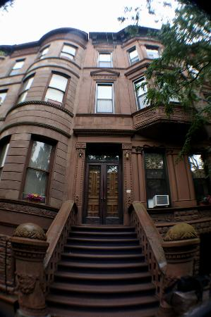 Heart of Harlem : This is the front of the brownstone.