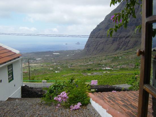 El Sitio: Vista del Valle del Golfo desde nuestra habitación