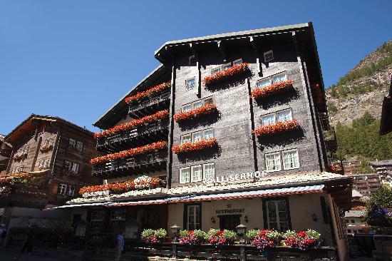 Hotel Walliserhof Zermatt: WALLISERHOF 1896.