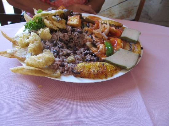 Tours Papagayo: Lunch, local food, very tastey