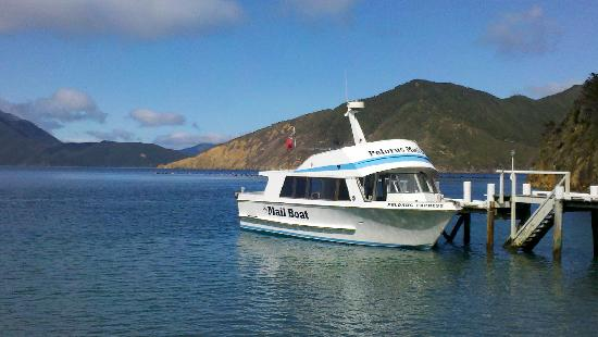Pelorus Mail Boat: Delivering the mail in Pelorus Sound
