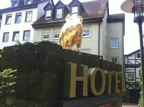 Hotel Restaurant Altes Badhaus: The Golden Eber
