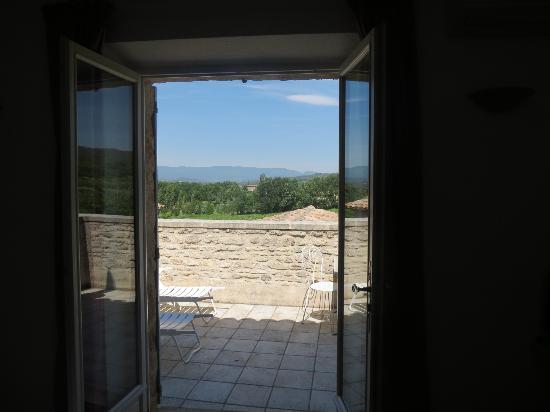 Le Mas del Sol: Pampre balcony