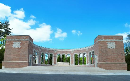 Fere-en-Tardenois, Frankreich: The Memorial, Chapel & Map Room