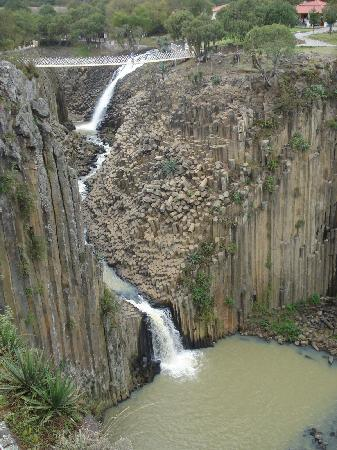 Huasca de Ocampo, Messico: vista