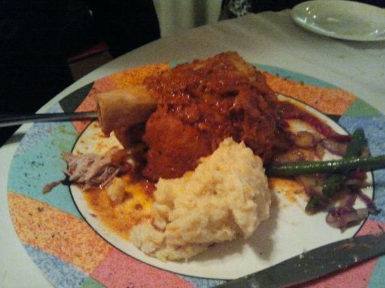 Uncle Will's Pancake House: PORK OSSO BUCCO