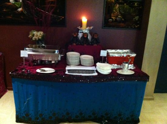 AAJ India Cafe & Restaurant: buffet
