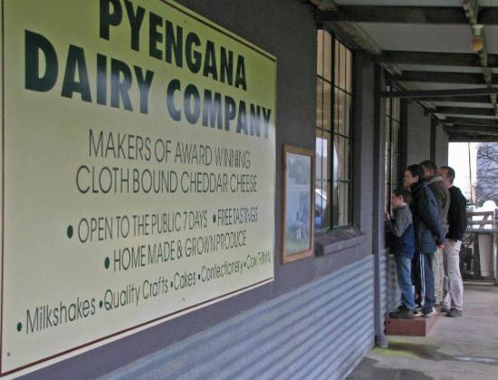 Tin Dragon Trail Cottages: Pyengana Dairy
