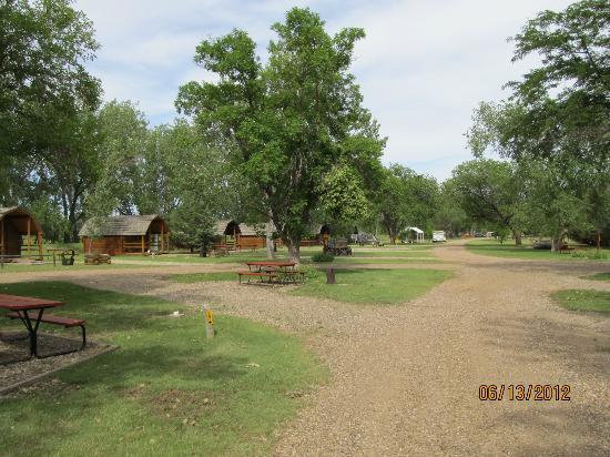 Badlands/ White River KOA: Cabins