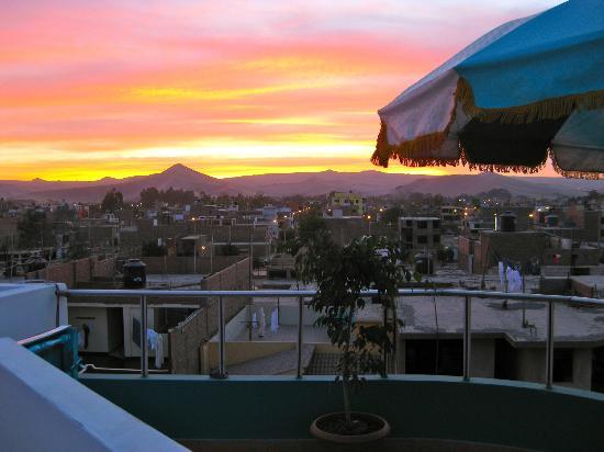 Hotel Ollanta: вид с террасы