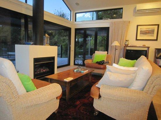 The Point Villas : Lounge area