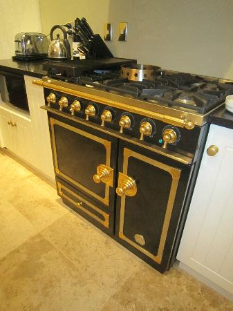 The Point Villas: The fabulous stove