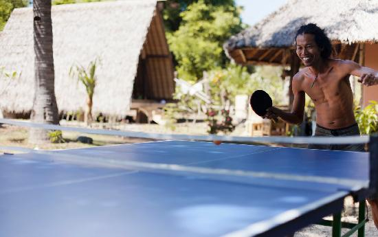 Gili Meno, Indonesia: Table Tennis