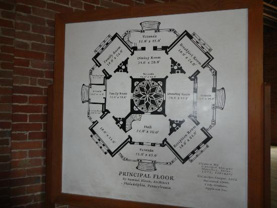 Longwood: 2nd level plans