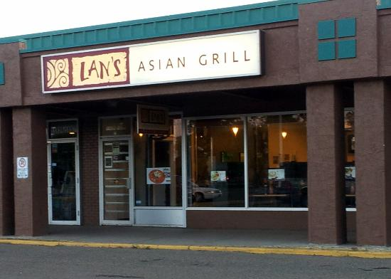 Lan's Asian Grill: Located in a strip mall on 103 ST north of 118 Ave.