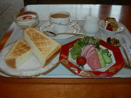Takayama Green Hotel: 飛騨の素材が使われた朝食セット
