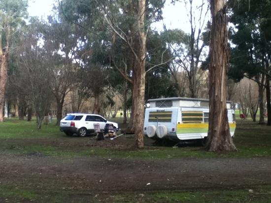 Halls Gap Lakeside Tourist Park : our site :)