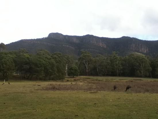 Halls Gap Lakeside Tourist Park: our view
