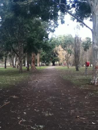 Halls Gap Lakeside Tourist Park : winter at Lakeside