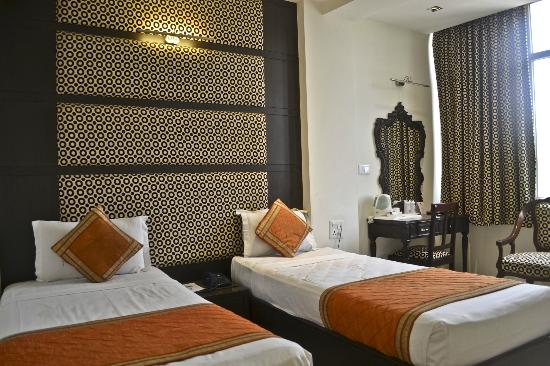 Hotel Arpit Palace : the room