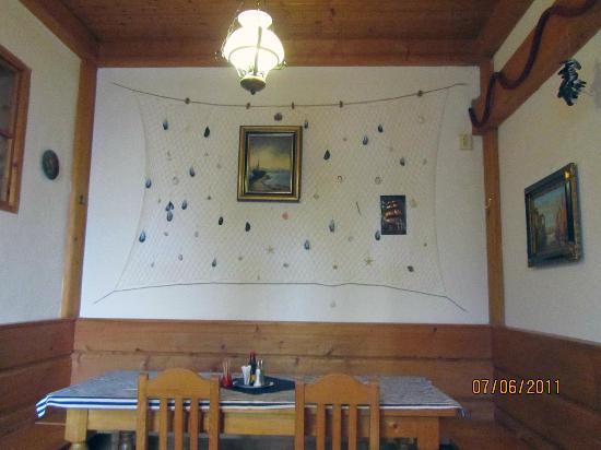 Hotel Kreta: The dining room
