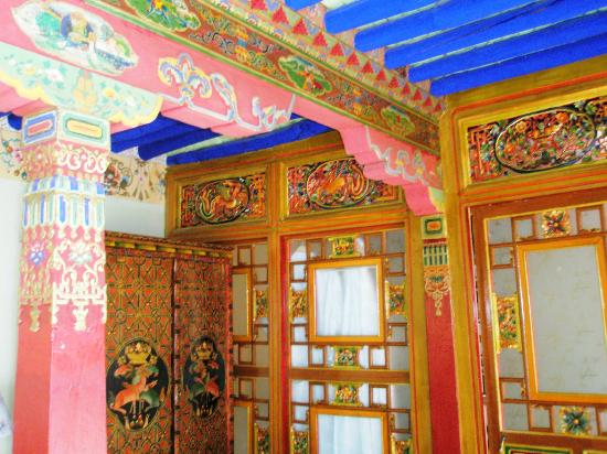 Lingtsang Boutique Hotel: Still retained the traditional Tibetan styled designed