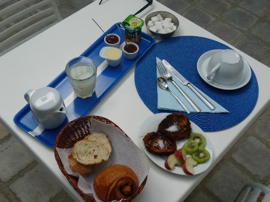 Dar Fatma : Petit déjeuner médiocre pour le prix.