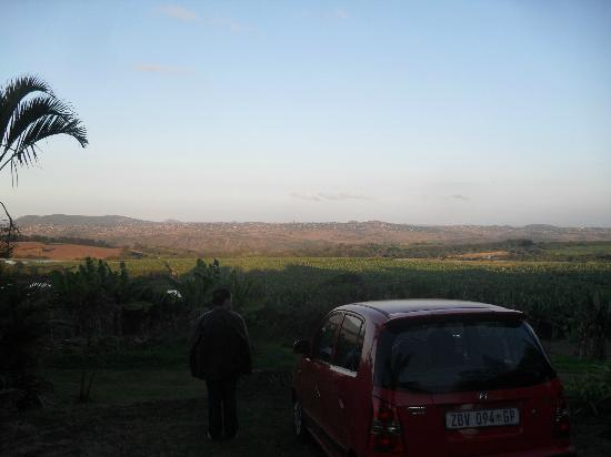 Nabana Lodge: View from the lodge