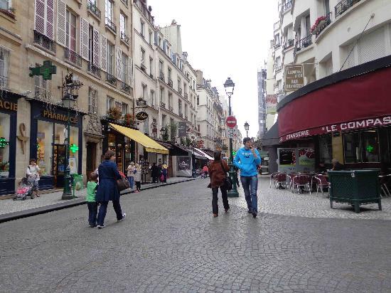 Rue Montorgueil: May 2012