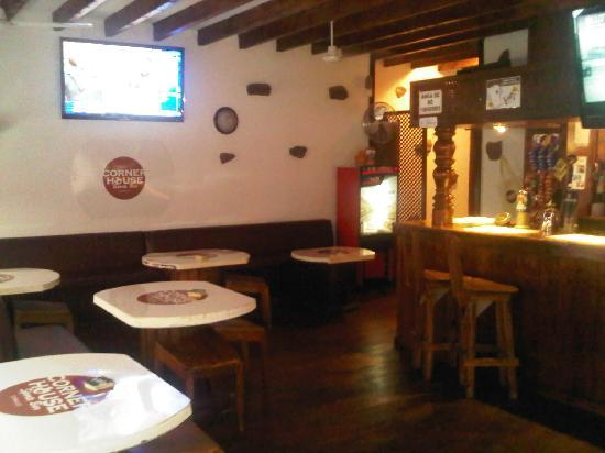 The Corner House: The bar