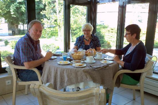 Hotel Grillon : ontbijt