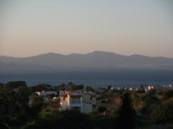 Aegean View Aqua Resort: View from Bar