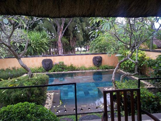 The Oberoi, Mauritius: view from the porch