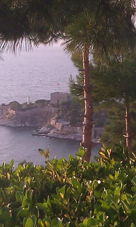 Venti Hotel Luxury: View from the terrace of the castle
